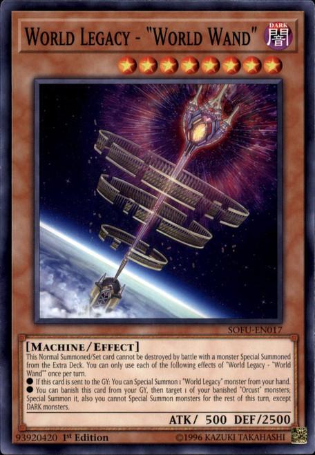 YuGiOh Soul Fusion Common World Legacy - World Wand SOFU-EN017