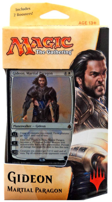 MtG Trading Card Game Amonkhet Gideon Planeswalker Deck [Comes with 2 Boosters!]
