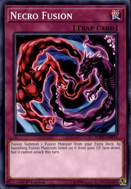 YuGiOh Soul Fusion Common Necro Fusion SOFU-EN075