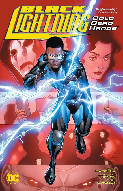 DC Black Lightning Cold Dead Hands Trade Paperback Comic Book
