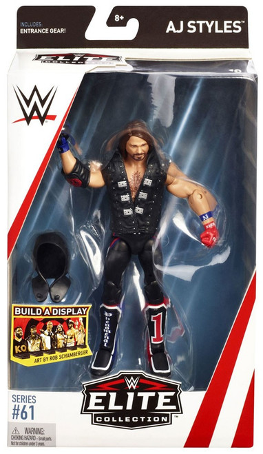WWE Wrestling Elite Collection Series 61 AJ Styles Action Figure