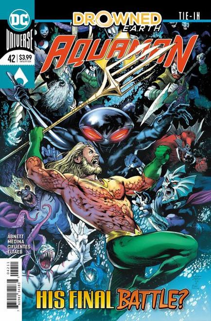 DC Aquaman #42 Drowned Earth Comic Book