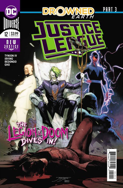 DC Justice League #12 Drowned Earth Comic Book