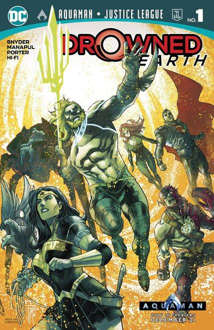 DC Aquaman #1 Justice League Drowned Earth Comic Book