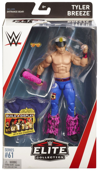 WWE Wrestling Elite Collection Series 61 Tyler Breeze Action Figure