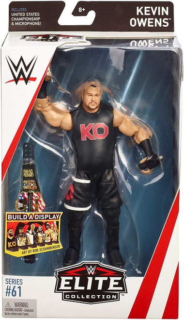 WWE Wrestling Elite Collection Series 61 Kevin Owens Action Figure