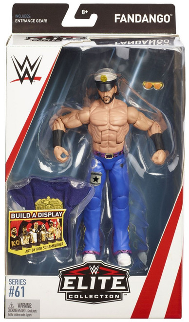 WWE Wrestling Elite Collection Series 61 Fandango Action Figure