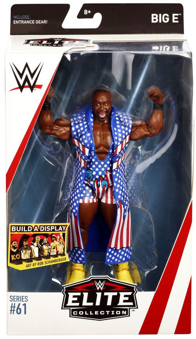 WWE Wrestling Elite Collection Series 61 Big E Action Figure