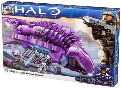 Mega Bloks Halo Covenant Phantom Set #96941 [Damaged Package]