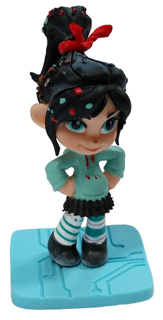 Disney Wreck-It Ralph 2: Ralph Breaks the Internet Vanellope Van Schweetz 2.5-Inch PVC Figure [Loose]