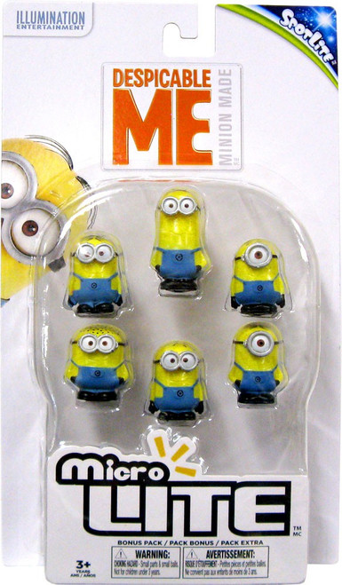 Despicable Me Minions Micro Lite 6-Pack [Damaged Package]