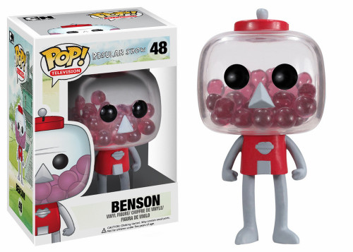 Funko Cartoon Network Regular Show POP! TV Benson Vinyl Figure #48 [Damaged Package]