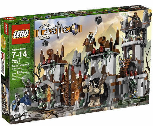 LEGO Castle Troll's Mountain Fortress Set #7097