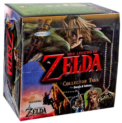Legend of Zelda Collector (Dog) Tags Mystery Box [24 Packs]