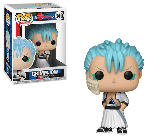 Funko Bleach POP! Anime Grimmjow Vinyl Figure #349