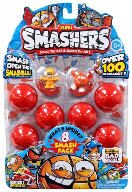 Smashers Series 1 Sports! Mini Figure 8-Pack [RANDOM 8-Pack!]