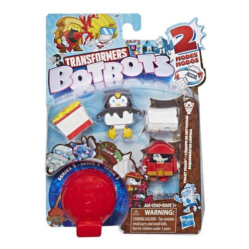 Transformers BotBots Series 1 Toilet Troop Mini Figure 5-Pack [RANDOM Figures!]