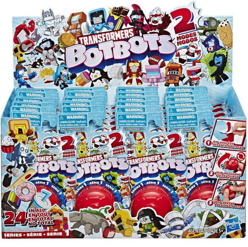 Transformers BotBots Series 1 Mystery Box [24 Packs]