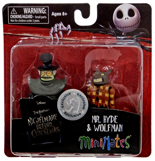 Nightmare Before Christmas Minimates Mr. Hyde & Wolfman Exclusive Minifigure 2-Pack