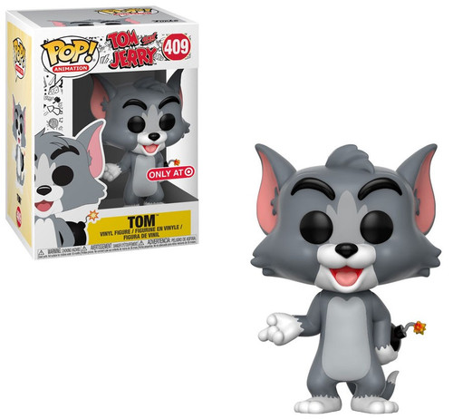 Funko Tom and Jerry POP! Animation Tom Exclusive Vinyl Figure #409 [with Explosives, Damaged Package]