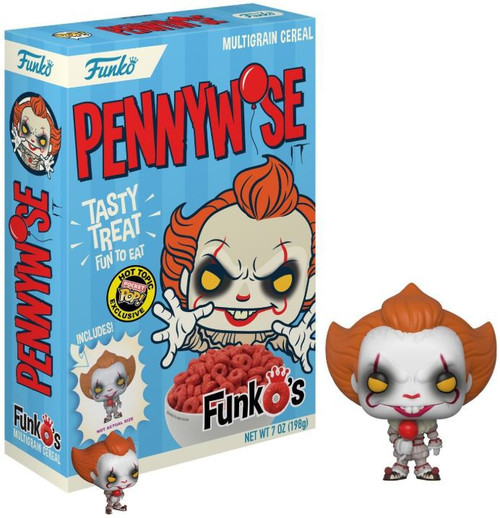Funko IT Movie (2017) IT Pennywise Exclusive 7 Oz. Breakfast Cereal [Damaged Package]