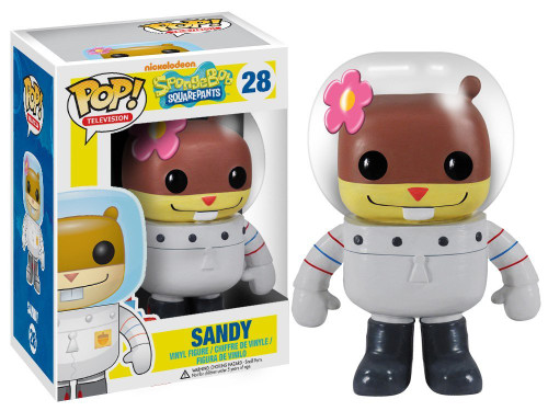 Funko Spongebob Squarepants POP! TV Sandy Vinyl Figure #28 [Damaged Package]