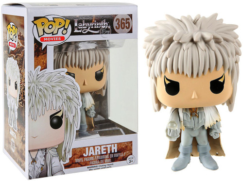 Funko Labyrinth POP! Movies Jareth Exclusive Vinyl Figure #365 [White Outfit, Damaged Package]