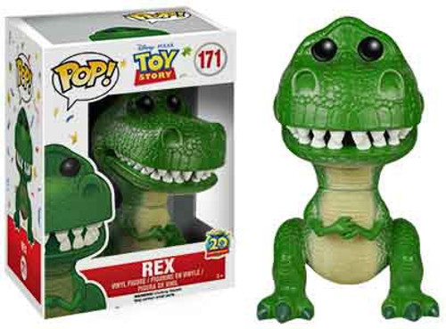 Funko Toy Story POP! Disney Rex Vinyl Figure #171 [20th Anniversary, Damaged Package]