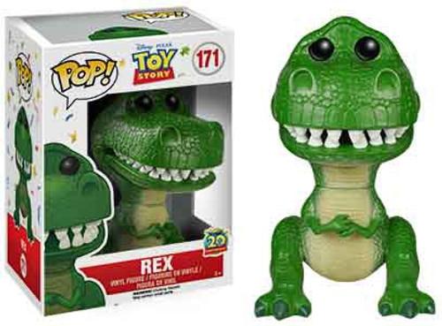 Funko Toy Story POP! Disney Rex Vinyl Figure #171 [20th Anniversary, Damaged Package]