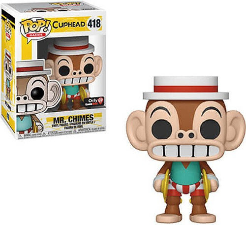 Funko Cuphead POP! Games Mr. Chimes Exclusive Vinyl Figure #418