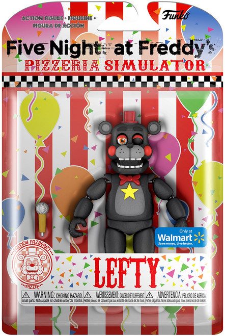 Funko Five Nights at Freddy's Pizzeria Simulator Lefty Exclusive Action Figure