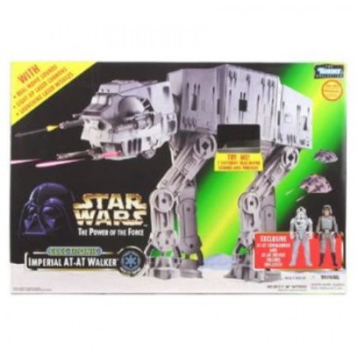 Star Wars The Empire Strikes Back Power of the Force POTF2 Kenner Collection AT-AT Walker Action Figure Vehicle
