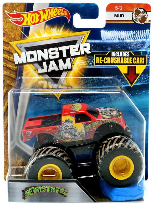 Hot Wheels Monster Jam Devastator Die-Cast Car #5/6 [Mud]