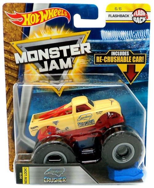 Hot Wheels Monster Jam 25 Carolina Crusher Die-Cast Car #6/6 [Flashback]