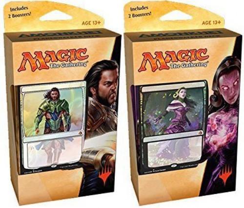 MtG Trading Card Game Amonkhet Planeswalker Set of Both Decks [Gideon & Liliana]