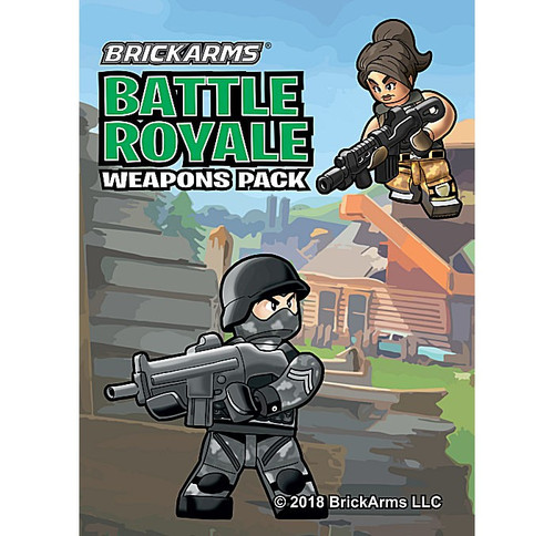 BrickArms Battle Royale 2.5-Inch Weapons Pack