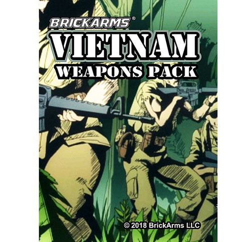 BrickArms Vietnam Pack 2.5-Inch Weapons Pack