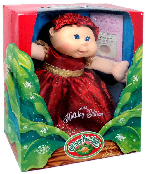 Cabbage Patch Kids 2018 Holiday Edition Penny Jules Exclusive Doll