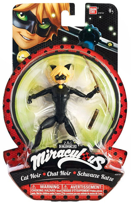 Zag Heroez Miraculous: Tales of Ladybug & Cat Noir Cat Noir Action Figure