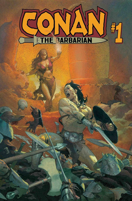 Marvel Comics Conan The Barbarian #1 Comic Book