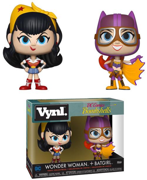 Funko DC Bombshells Vynl. Wonder Woman & Batgirl Vinyl Figure 2-Pack