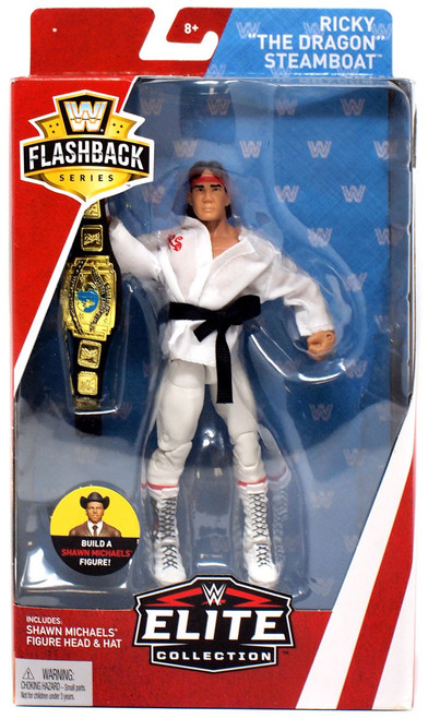 "WWE Wrestling Elite Collection Flashback Ricky ""The Dragon"" Steamboat Exclusive Action Figure"