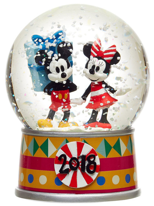 Disney 2018 Mickey Mouse & Minnie Mouse Exclusive Snow Globe