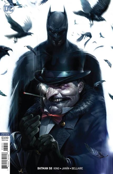 DC Batman #58 Comic Book [Francesco Mattina Variant Cover]