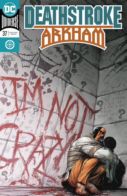 DC Deathstroke #37 Arkham Comic Book