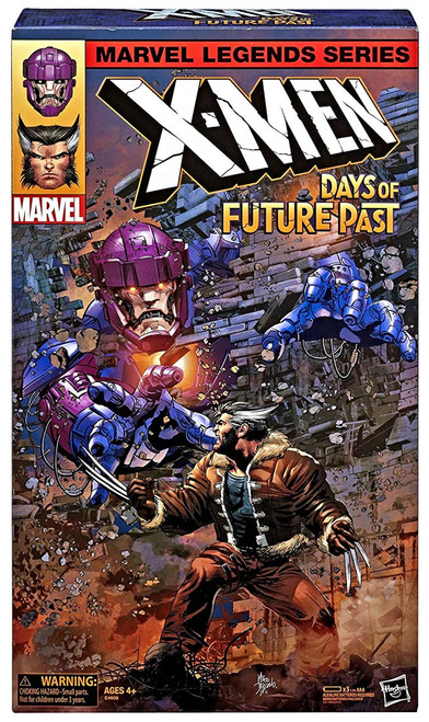 X-Men Days of Future Past Marvel Legends Wolverine & Sentinel Exclusive Action Figure 2-Pack [with Sound]