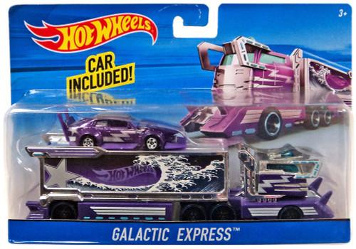 Hot Wheels Galactic Express Die-Cast Car [Damaged Package]