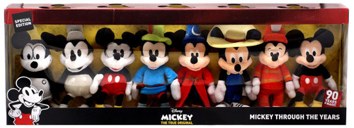 Disney Mickey the True Original Mickey Through the Years Exclusive 8-Inch Plush 8-Pack