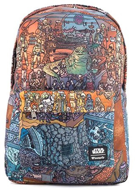 Star Wars Jabba's Palace Print Exclusive Backpack