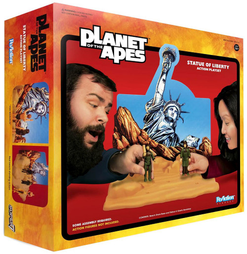 ReAction Planet of the Apes Statue of Liberty Action Exclusive 3.75-Inch Playset